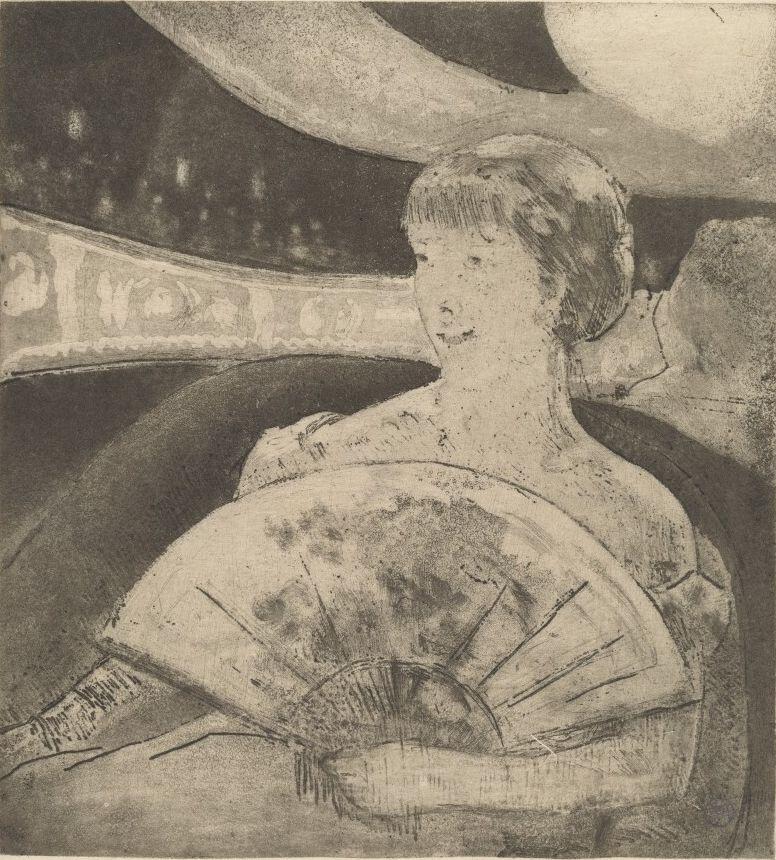Мэри Кассат. Ложа в опере
