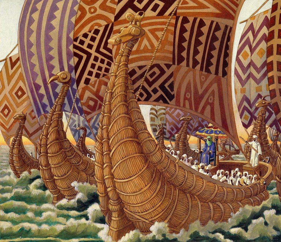 Leo and Diana Dillon. Mansa Musa