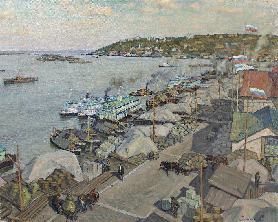 Rudolf Aleksandrovich Sosnin. Pocket of Russia