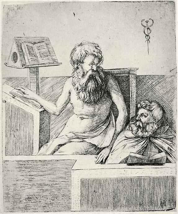 Jacopo de Barbary. Two elders reading