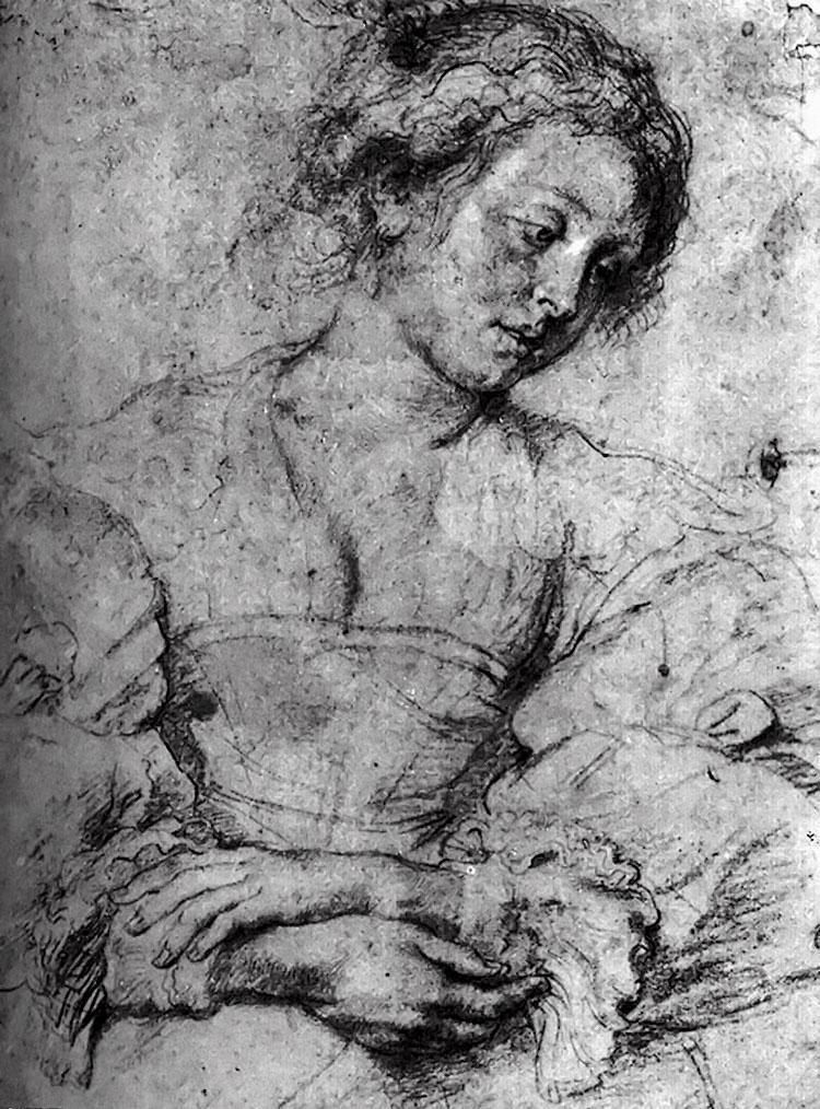 Питер Пауль Рубенс. Портрет молодой женщины со сложенными руками