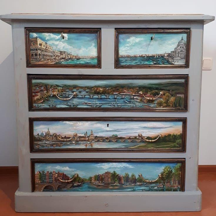 Polina Belets. Furniture painting
