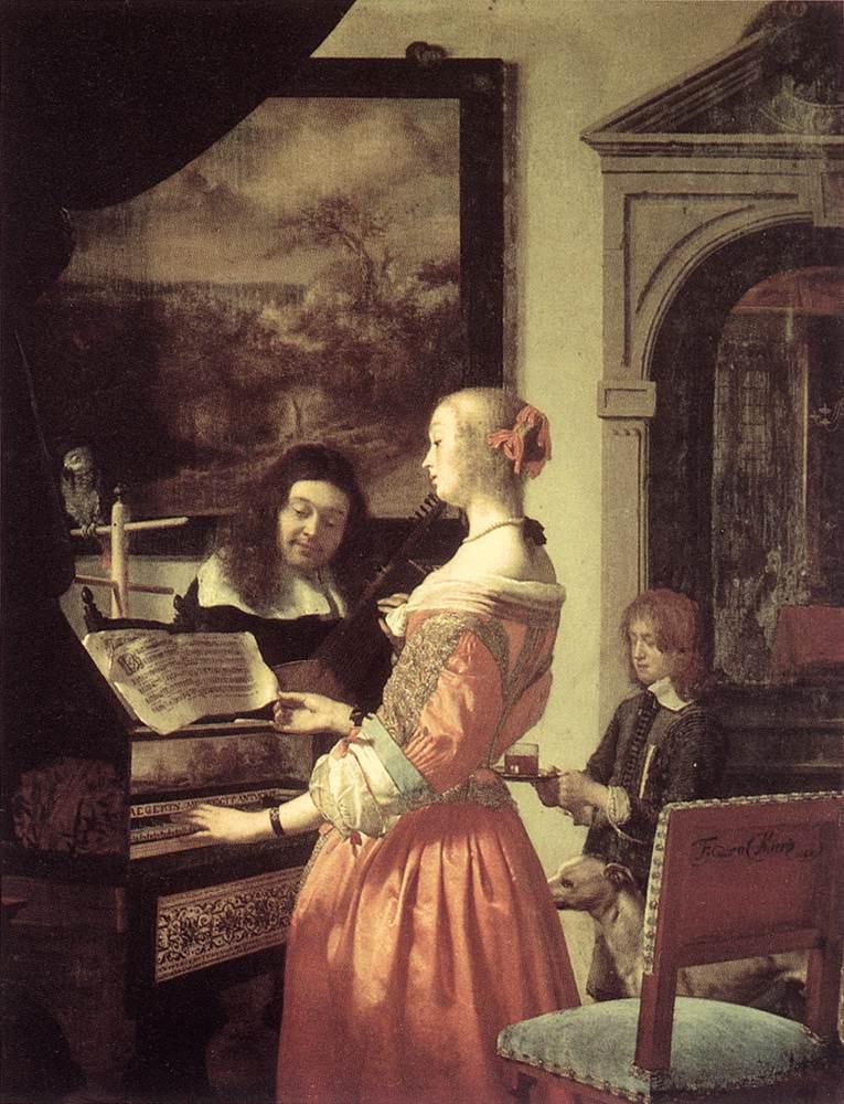 Franz van Miris the Elder. Duo