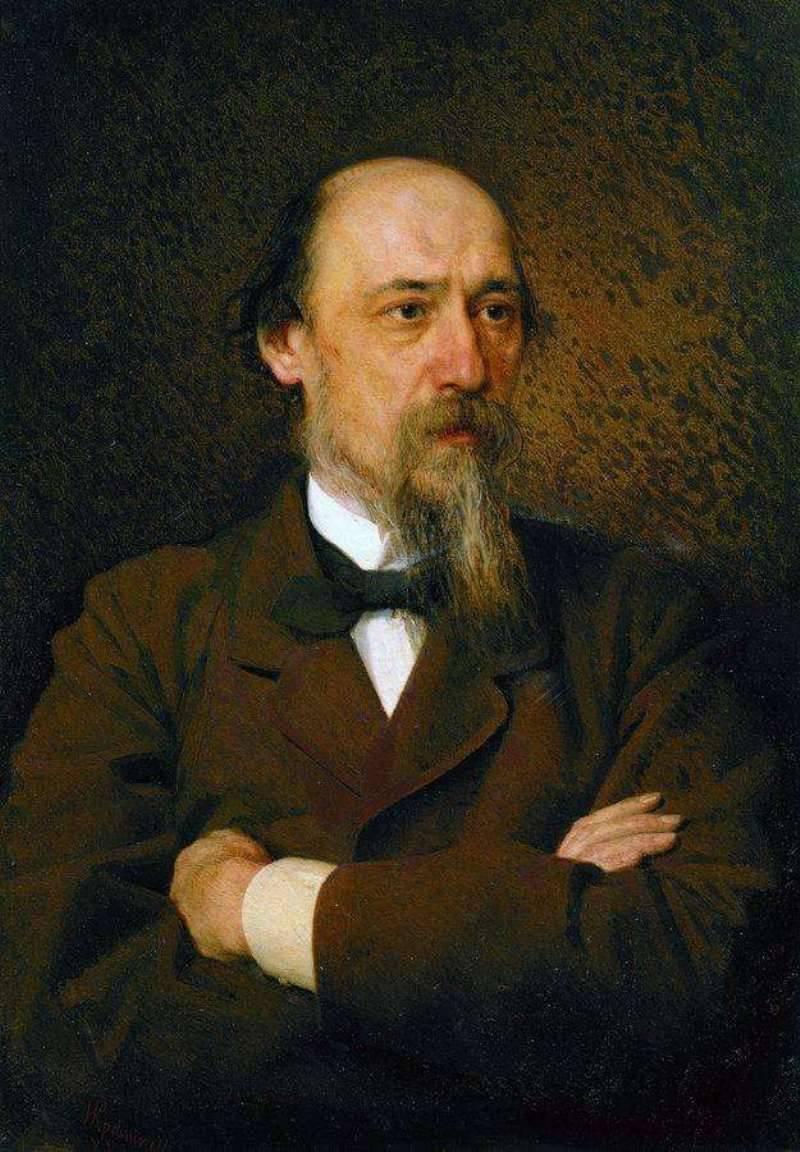 Ivan Nikolayevich Kramskoy. Portrait of the poet Nikolai Nekrasov