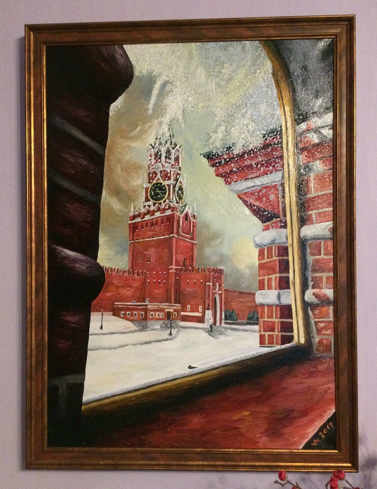 Konstantin Vizgalin. Tower, Moscow