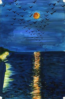 Natalya Garber. Wings of darkness
