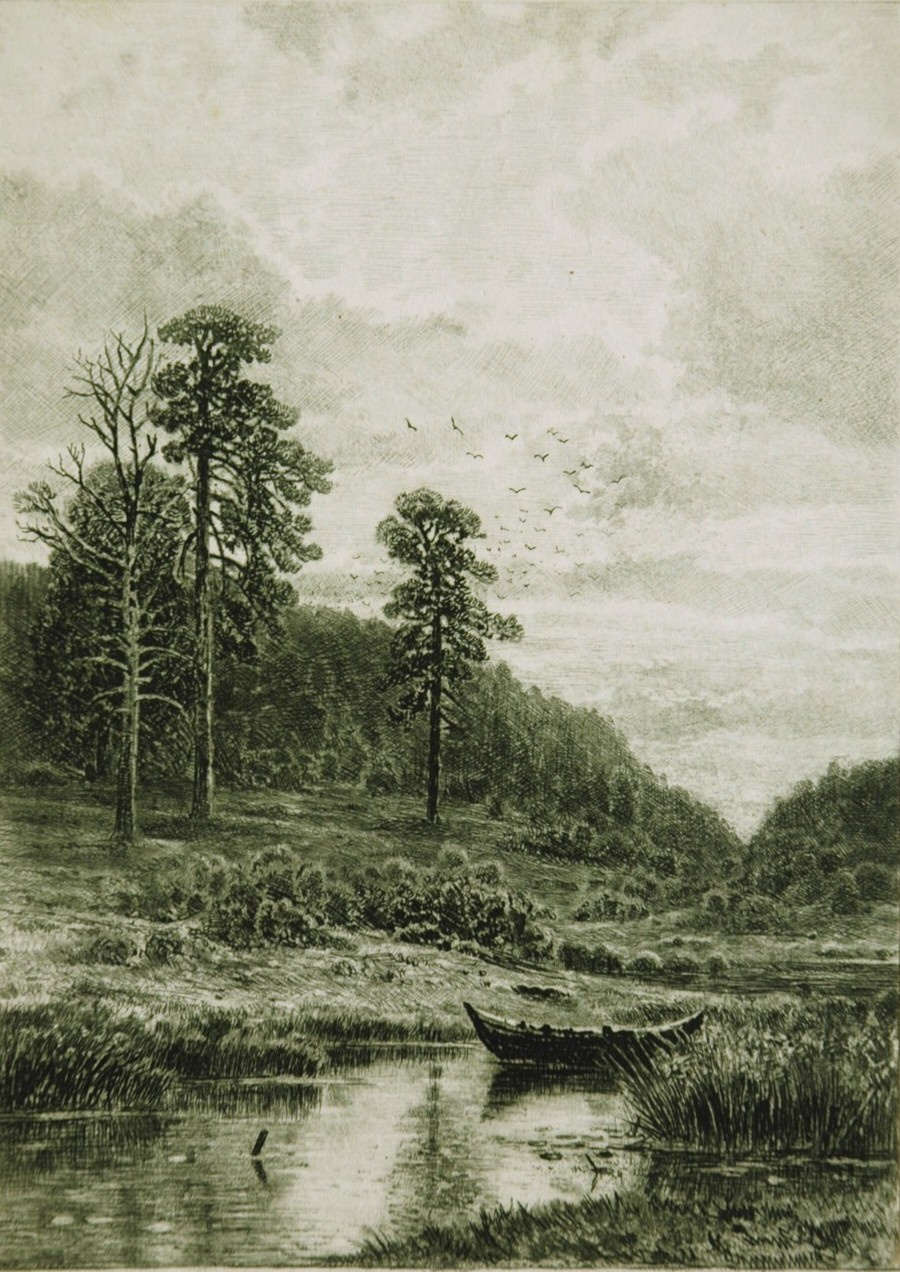 Ivan Ivanovich Shishkin. Berezhok