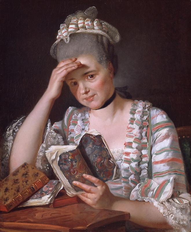 Jacques-Louis David. Madame François Buron