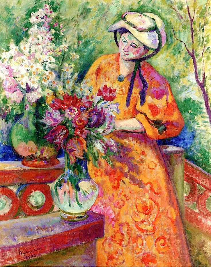 Henri Manguin. For the preparation of the bouquet