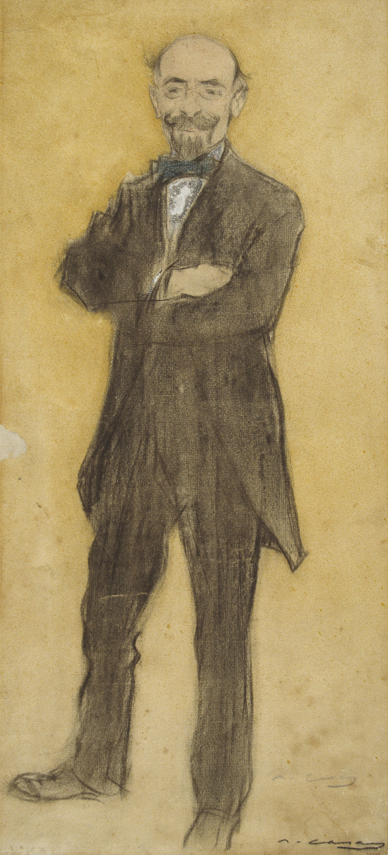 Ramon Casas i Carbó. Portrait of Torcuata Tasso