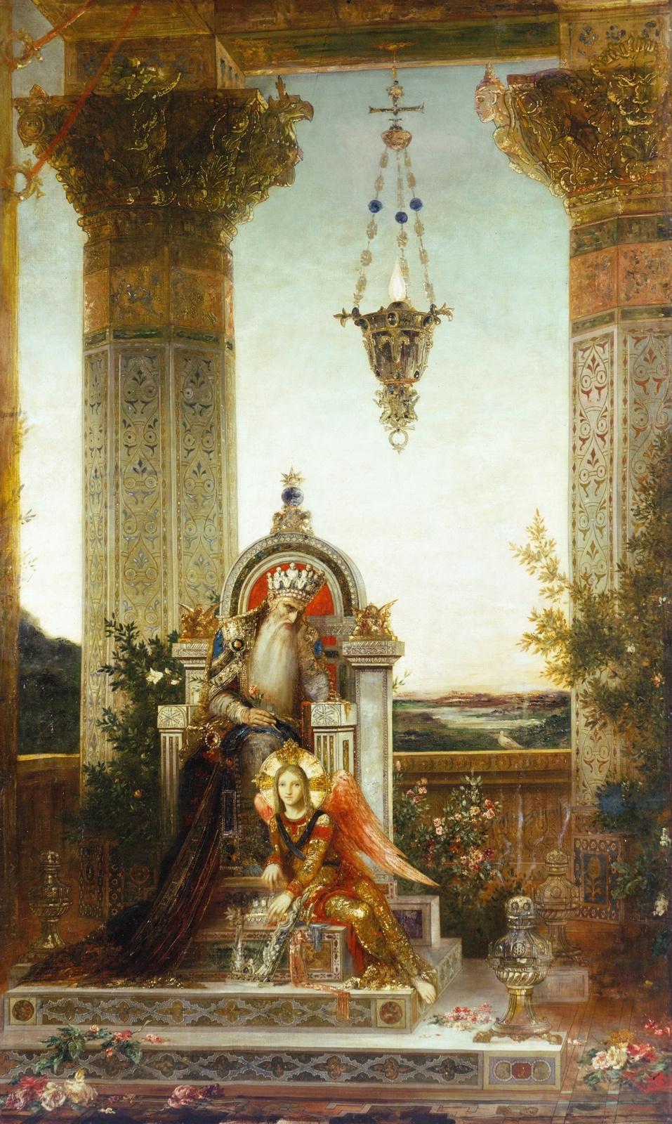 Gustave Moreau. King David