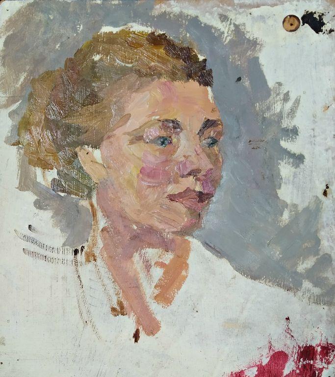 Petr Filippovich Alberti. Female portrait