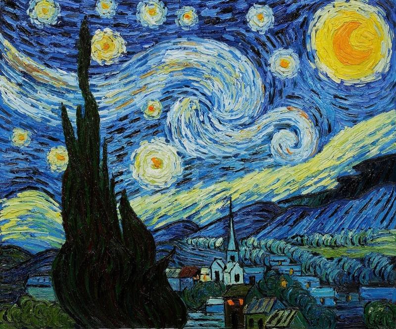Michael Kelly. Sternennachtmalerei