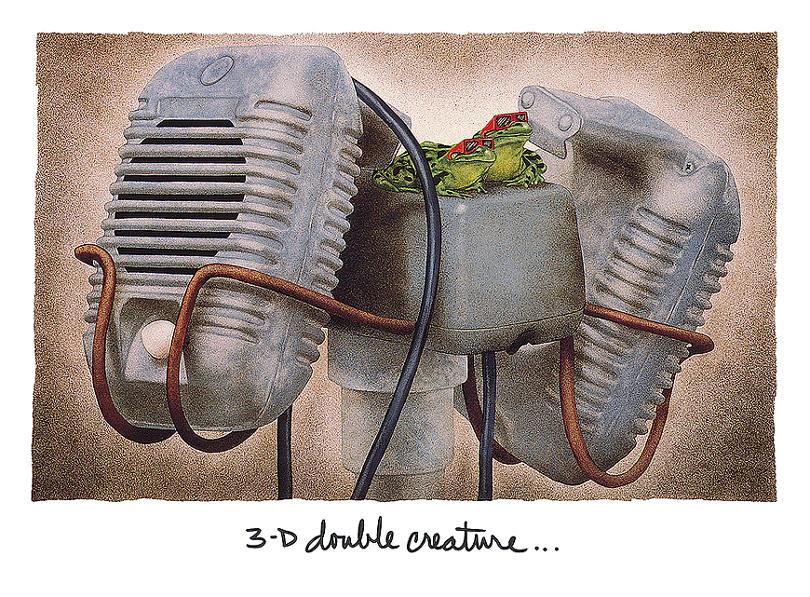 Уилл Буллас. 3D двойные существа