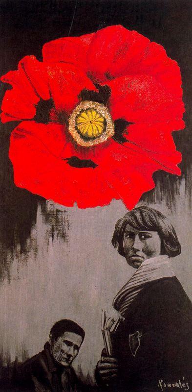 Гиацинта Гил Ронсалес. Красный цветок