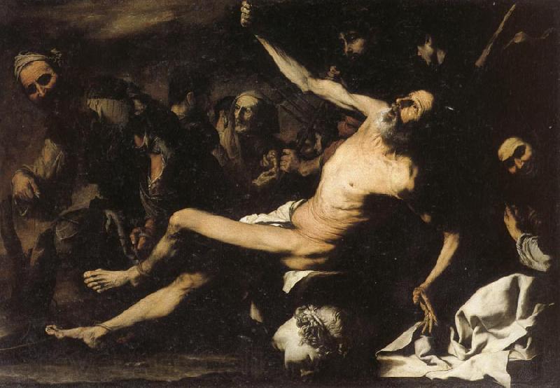 Хосе де Рибера. Мученичество св. Варфоломея