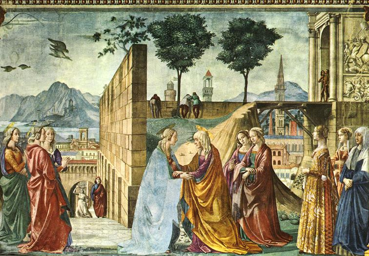 Domenico Girlandajo. Visit
