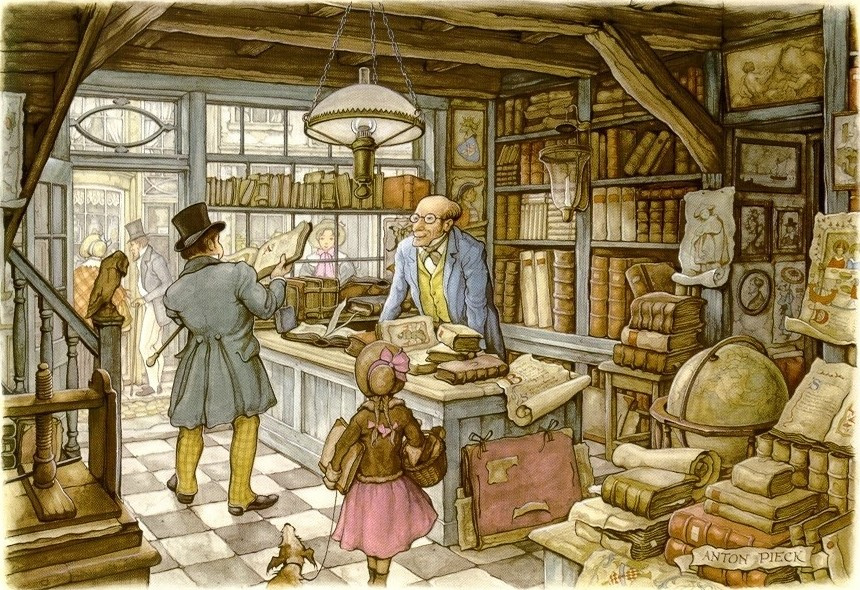 Anton Pieck. The seller antiquarian books