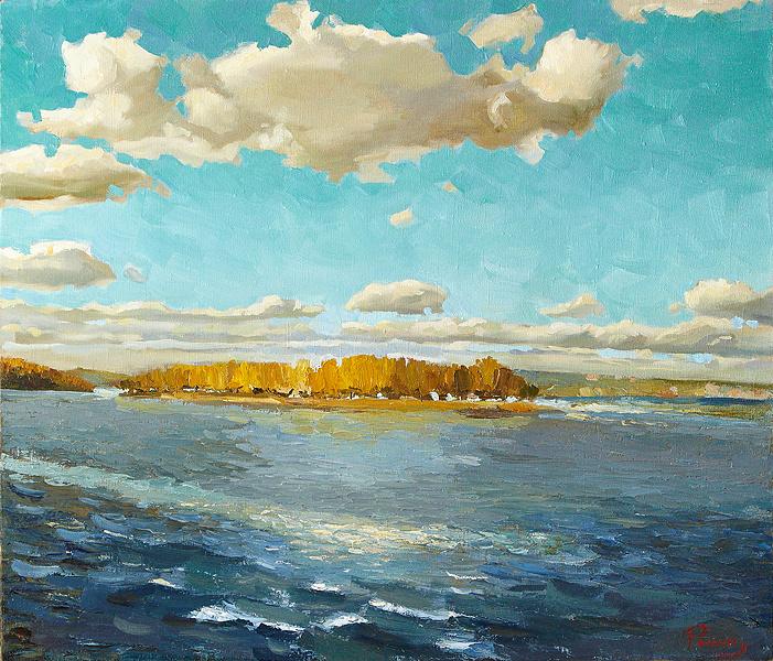 Yuri Ivanovich Roman. Fresh Wind