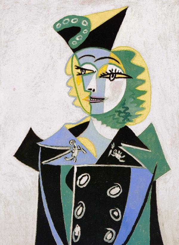 Пабло Пикассо. Портрет Нюш Элюар