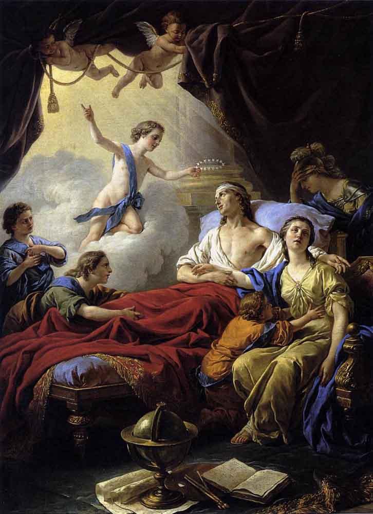 Луи Жан-Франсуа Лагрене. Сюжет 2