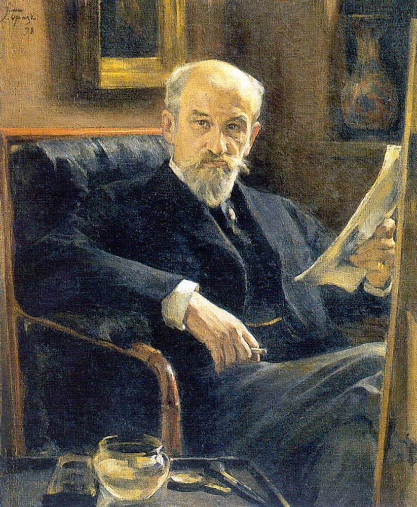 Константин Андреевич Сомов. Портрет Андрея Ивановича Сомова