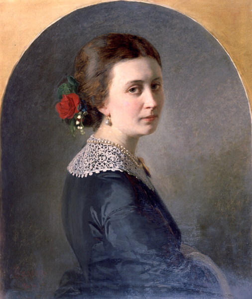 Ivan Petrovich Kehler-Viliandi. Portrait Of Bogolubovo