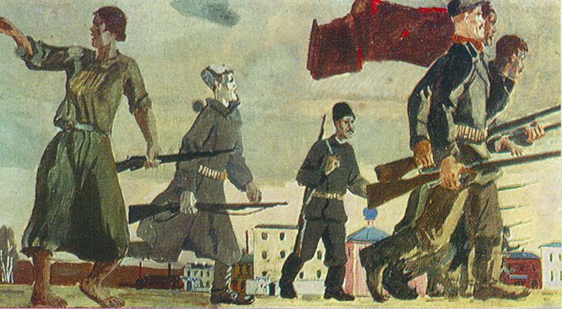 Александр Александрович Дейнека. Восстание