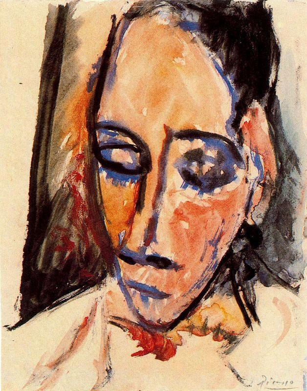 Пабло Пикассо. Лицо