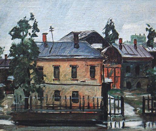 Александр Александрович Дейнека. После дождя