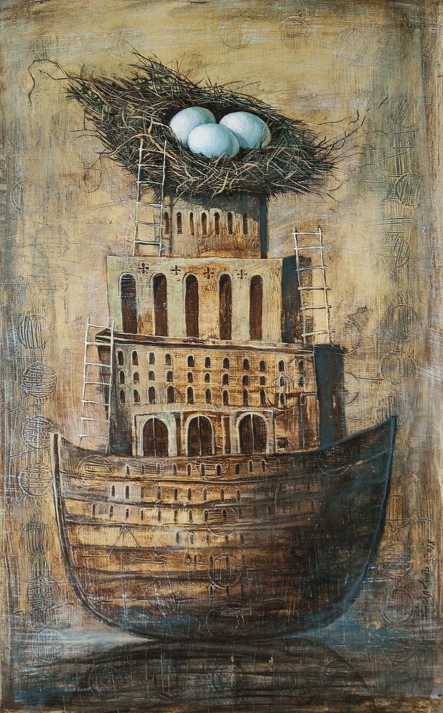 Alexey Ivanovich Kopalkin. The ark