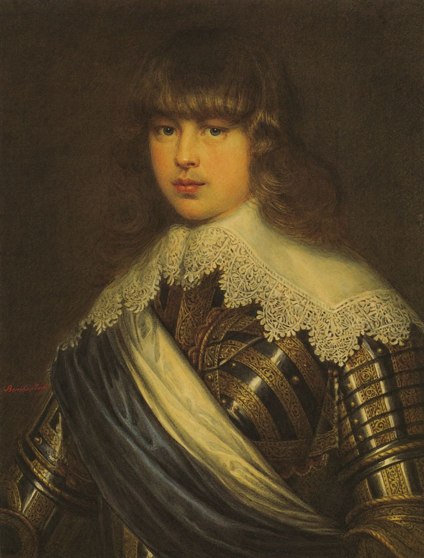 "Dmitry Alexandrovich Benckendorff. A copy of ""Portrait of Christian V"""