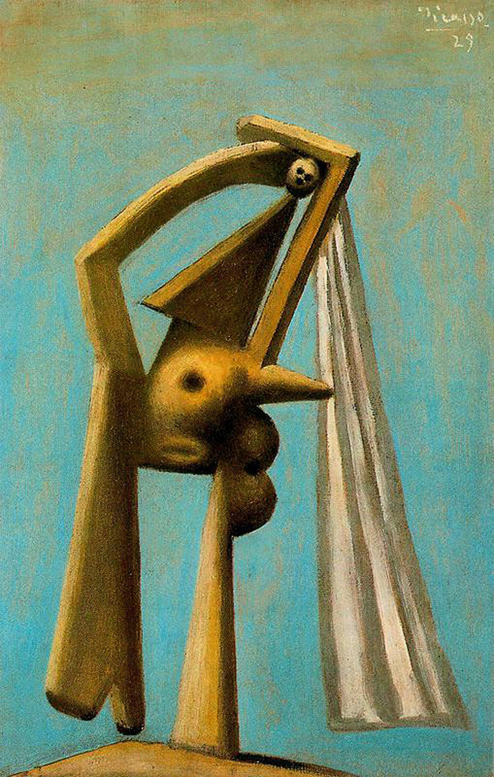 Pablo Picasso. Bather