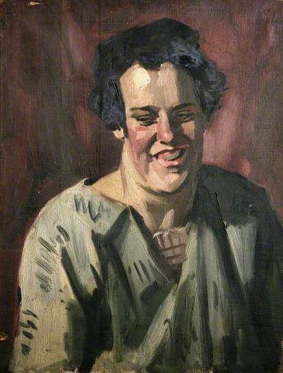 Эван Уолтерс. Портрет смеющегося человека
