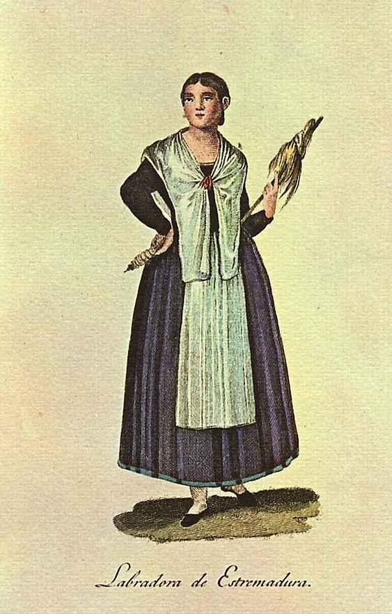 Хуан де ла Крус Кано-и-Ольмедилья. Крестьянка из Эстремадуры