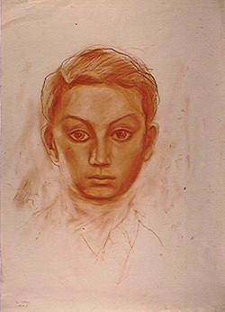 Samuel Bak. Self-portrait