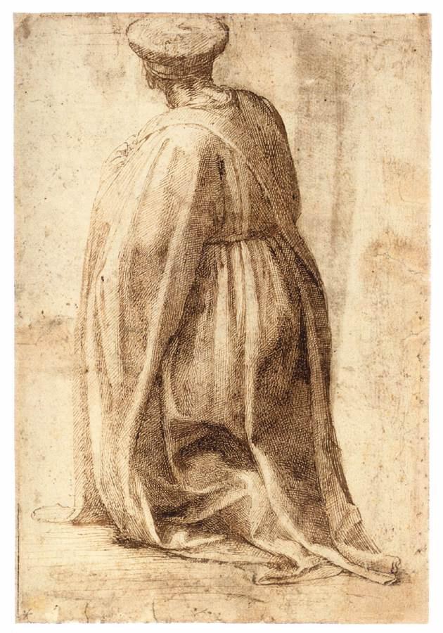 Michelangelo Buonarroti. Etude