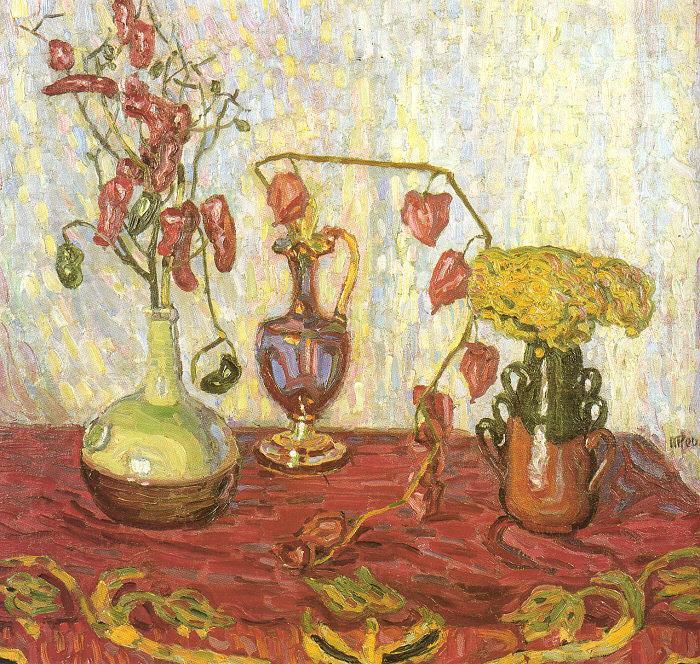 Макс Пехштейн. Цветы