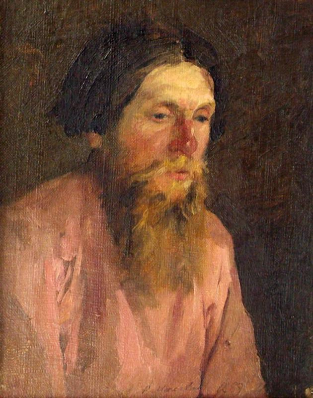 Filipp Andreevich Malyavin. Peasant. Portrait of the artist's father