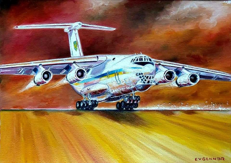 "Aviation Art. ""Speed"""