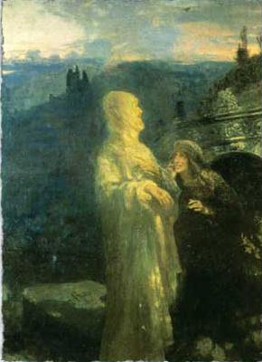 Ilya Efimovich Repin. Sunday morning. Christ and Mary Magdalene
