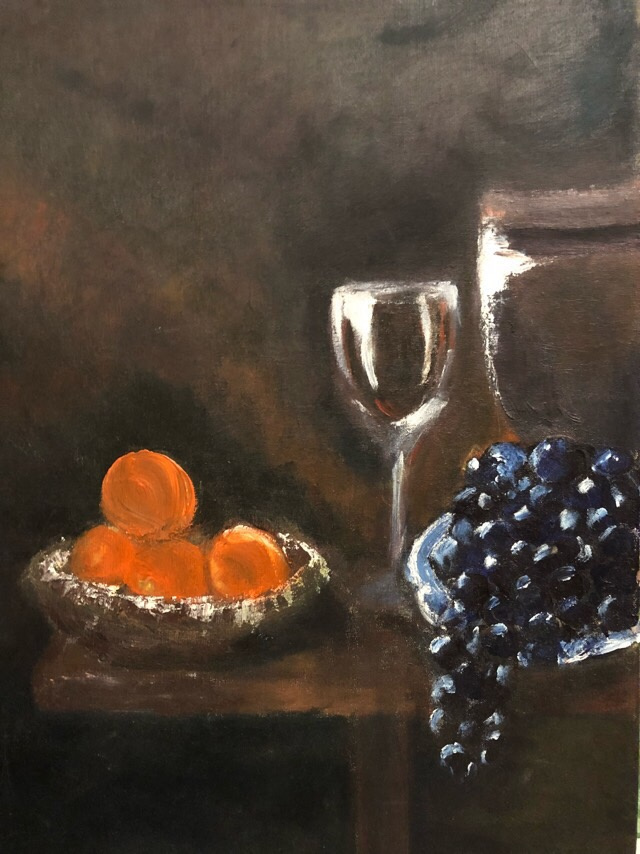 Unknown artist. Pomegranate wine