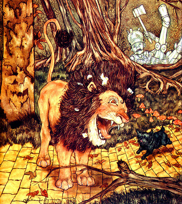 Michael haig. The cowardly lion