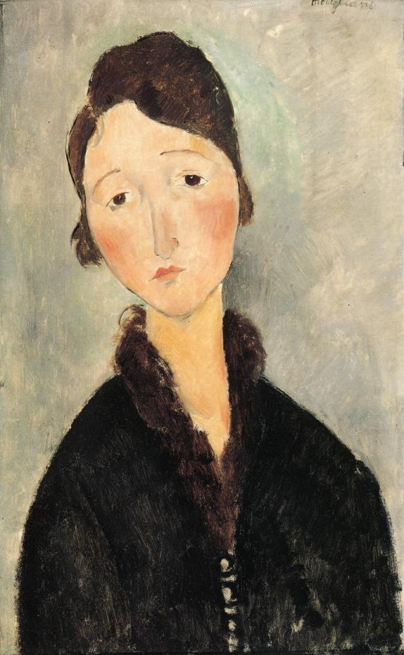 Amedeo Modigliani. Portrait of a young woman