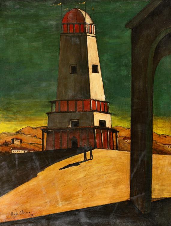 Giorgio de Chirico. The Big Tower