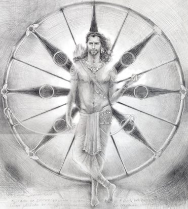 Sofia Sviridova. Arjuna. Mahabharata