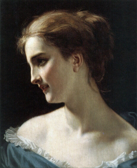 Хьюз Мерль. Портрет женщины