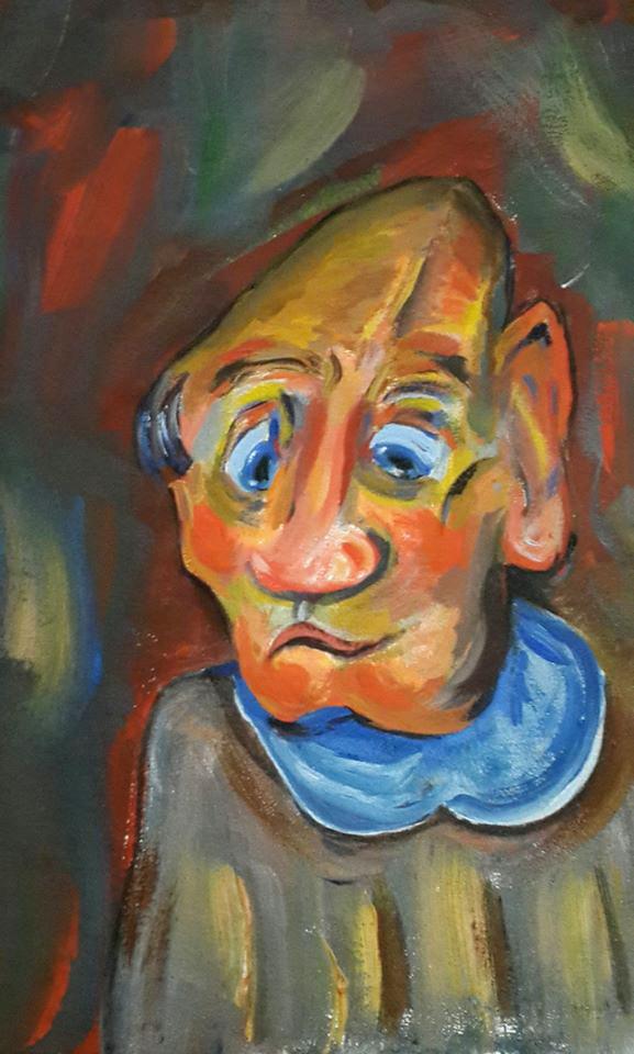 Sergey Yampolskiy. Little old man