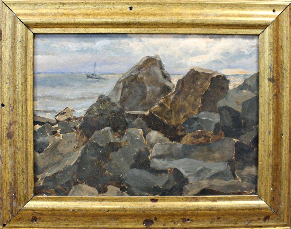 Orest Georgievich Betekhtin. Crimean stones