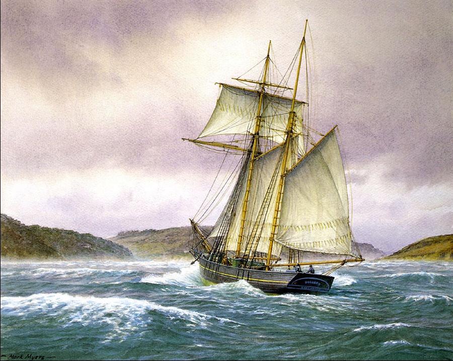 Марк Майерс. Парусное судно 7